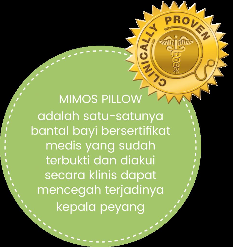 Mimos Pillow Indonesia Solusi Kepala Peyang